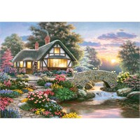 Castorland 1000 Parça Puzzle Serenity Cottage Richard Burns