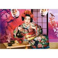 Castorland 1000 Parça Puzzle Geisha Tea Ceremony