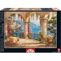 Educa Puzzle 1500 Parçalık Teras Keyfi