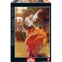 Educa Kırmızıyla Dans 1500 Parça Puzzle