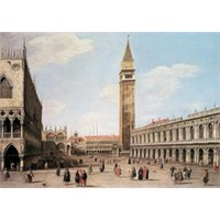 Educa 1000 Parça San Marcos Square,Canaletto