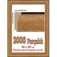 Heidi 2000 Parçalık Polistiren Puzzle Çerçevesi 96 X 68 Cm