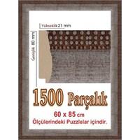 Heidi 1500 Parça İçin Polistiren Puzzle Çerçevesi 85 X 60 Cm