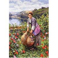 Castorland 1500 Parça The Grass Cutter, Daniel Ridgway Knight