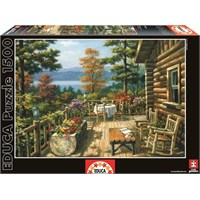 Educa 1500 Parçalık Puzzle Dağ Evi