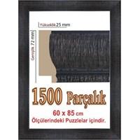 Polistiren Koyu Renk Puzzle Çerçevesi (85 x 60 cm.)