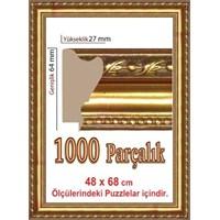 Polistiren Puzzle Çerçevesi 1000 Parça Puzzle İçin (68 X 48 Cm.)