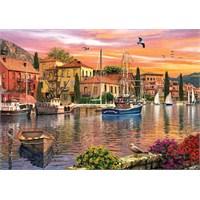 Ks Games 2000 Parça Harbour Sunset Puzzle