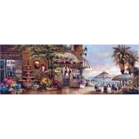 Art Puzzle 1000 Parça Puzzle Cafe Walk II Panorama Puzzle