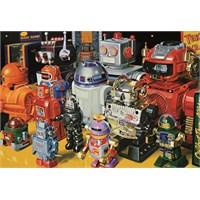 Educa 1000 Parça Robots Puzzle