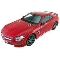 Maisto Mercedes-Benz Sl63 Amg Hard Top Diecast Model Araba 1:18 Premiere Edition Kırmızı