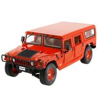 Maisto Hummer 4 Door Wagon Model Araba 1:18 P/E Kırmızı