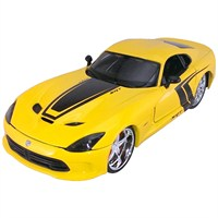 Maisto 2013 Srt Dodge Viper Gts Diecast Model Araba 1:24 Pro Rodz Sarı