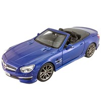 Maisto Mercedes-Benz Sl 63 Amg Model Araba 1:24 S/E Mavi