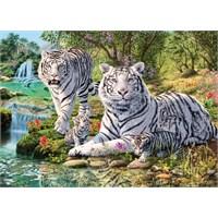 Masterpieces 500 Parça Neon Puzzle Jungle Royalty - Ormanın Kraliyet Ailesi