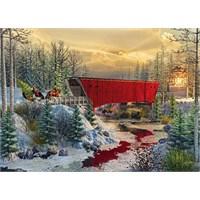 Masterpieces Ez Grip 1000 Parça Büyük Boy Puzzle Crossing Cedar Creek