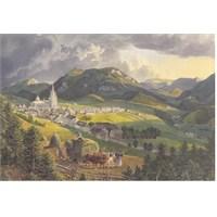 Karma Puzzle Bürgeralpe'den Mariazell (1000 Parça)
