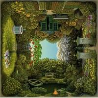 Schmidt 1000 Parça Kare Puzzle The Romantic Garden