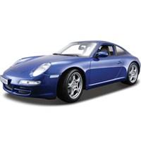 Maisto Porsche 911 Carrera S 1:18 Model Araba S/E Mavi