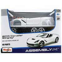 Maisto Corvette Stingray 1:24 Maket Kit