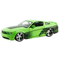 Maisto 2011 Ford Mustang Diecast Model Araba 1:24 Pro Rodz Yeşil
