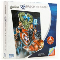 Mega Puzzle 300 Parça 3 Boyutlu Puzzle Breakthrough The Avengers