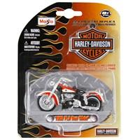 Maisto Harley Davidson 1958 Flh Duo Glide Model Motorsiklet 1:24