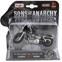 Maisto Sons Of Anarchy 2008 Harley Davidson Opie Model Motorsiklet