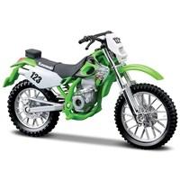 Maisto Kawasaki Klx250sr 1:18 Model Motorsiklet