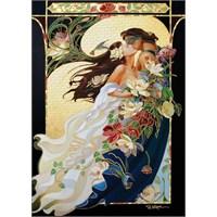 Art Puzzle 1000 Parça Yaldızlı Puzzle Romantik