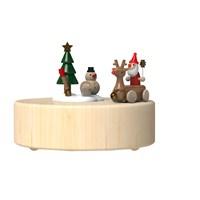 Wooderful Life Noel Baba ve Arabası Müzik Kutusu
