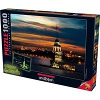 Anatolian Kız Kulesi Glow In Dark Neon 1000 Parça Puzzle