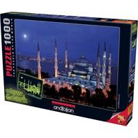 Anatolian Sultanahmet Glow In Dark Neon 1000 Parça Puzzle