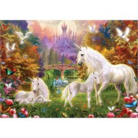 Masterpieces 500 Parça Neon Puzzle Enchanted Kingdom