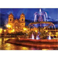 Masterpieces 1000 Parça Hdr Photography Puzzle Dancing Waters