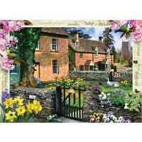 Masterpieces 1000 Parça Puzzle Tulip Cottage