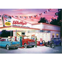 Masterpieces 1000 Parça Puzzle Wally's Service Station - Cruisin'