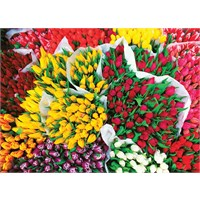 Masterpieces 1000 Parça Puzzle Totally Tulips