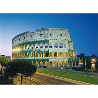 Clementoni 1000 Parça Puzzle Roma - Colosseo
