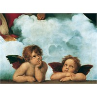 Clementoni 1000 Parça Puzzle Raffaello - Madonna Sistina