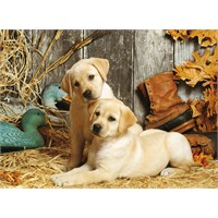 Clementoni 1500 Parça Puzzle Hunting Dogs