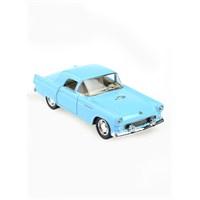 Kinsmart 1955 Ford Thunderbird Çek Bırak 1/36 Die Cast Model Araç Mavi