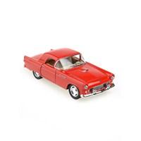 Kinsmart 1955 Ford Thunderbird Çek Bırak 1/36 Die Cast Model Araç Kırmızı
