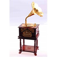 Dekotrends Gramafon Müzik Kutusu