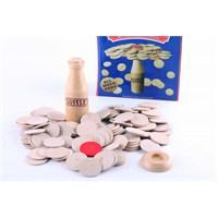 Wooden Toys Bottle Challange Match