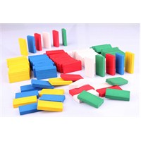 Wooden Toys 100'lü Ahşap Domino Seti