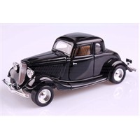 Motomax 1934 Ford Coupe 1/24 Die Cast Model Araç