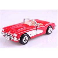 Motomax 1959 Corvette 1/24 Die Cast Model Araç