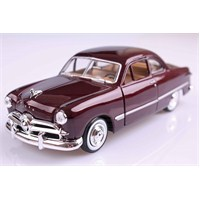 Motomax 1949 Ford Coupe 1/24 Die Cast Model Araç