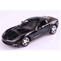 Motomax 2005 Corvette C6 1/24 Die Cast Model Araç